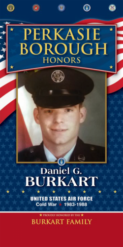 Daniel G Burkart
