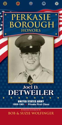 Joel D. Detweiler