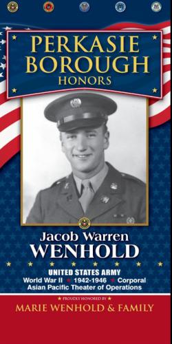 Jacob Warren Wenhold