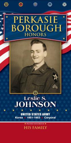Leslie S Johnson