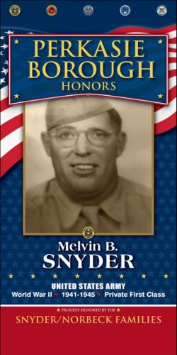 Melvin B Snyder