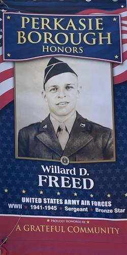 Willard D. Freed